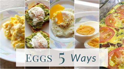 eggs ways cook