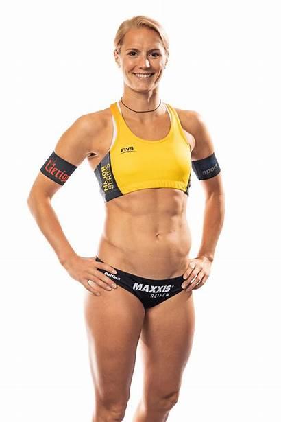 Behrens Beach Sandra Volleyball Kim Height Major
