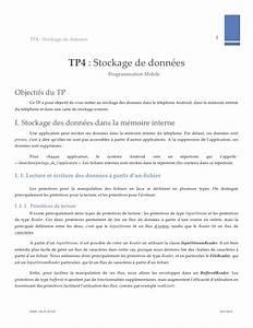 Stockage De Données : stockage de donn es dans android fichiers ~ Medecine-chirurgie-esthetiques.com Avis de Voitures