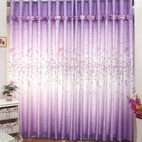 purple patterned curtains purple floral and lace pleated designer curtains