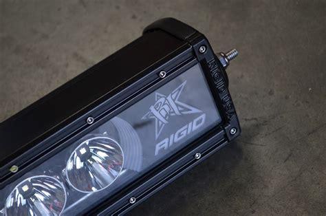 002 rigid radiance led light bar install