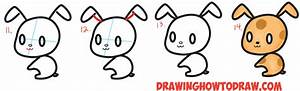 How to Draw Cute Chibi / Kawaii Characters with Number 3 ...