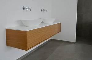 Waschtischplatte Fuer Aufsatzwaschbecken : badm bel nach ma vom schreiner holzdesign rapp geisingen ~ Orissabook.com Haus und Dekorationen