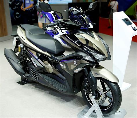 Aerox 155 Hitam Modifikasi by 93 Modifikasi Motor Aerox Warna Hitam Terbaik Dan