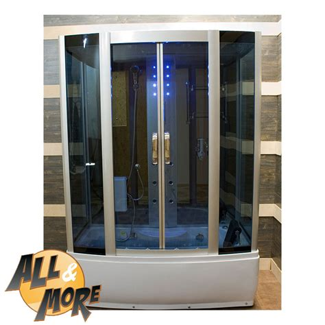cabine doccia con sauna all more it cabina box doccia con vasca idromassaggio e