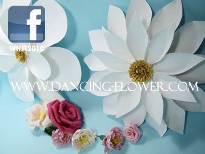 shiny handmade paper flower for window decoration wfag 31