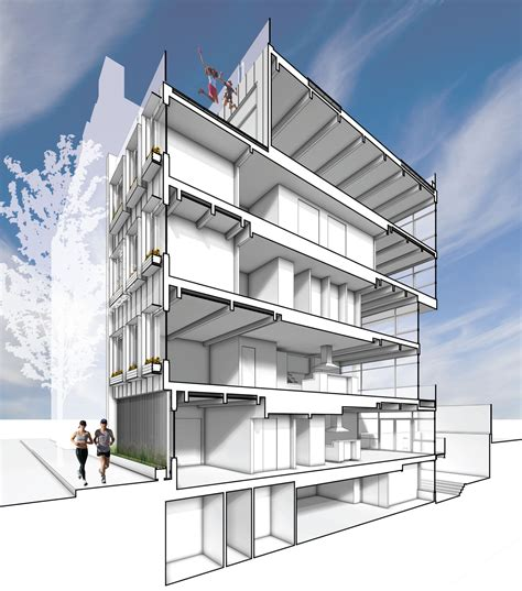 architecture plans 253 pacific in designed by cleary