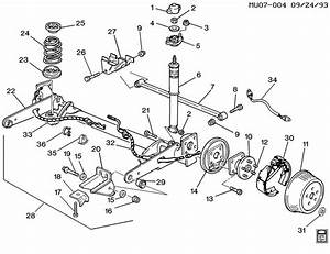 Chevy Rear End Diagram