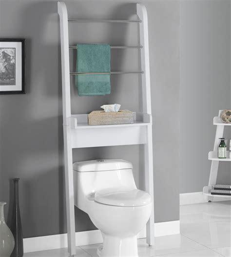 Bathroom Shelves Around Toilet