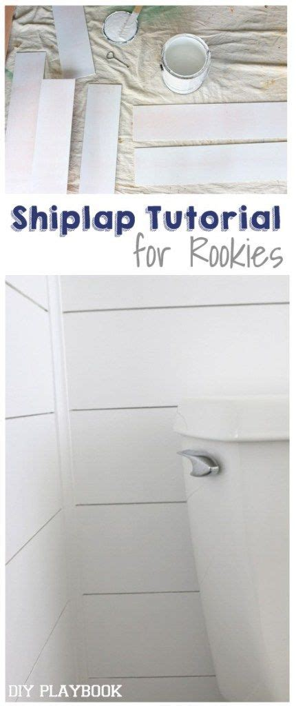 Easy Shiplap by Easy Shiplap Tutorial For Beginner Diyers And Homeowners
