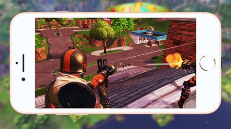 fortnite battle royale full mobile match gameplay gamespot