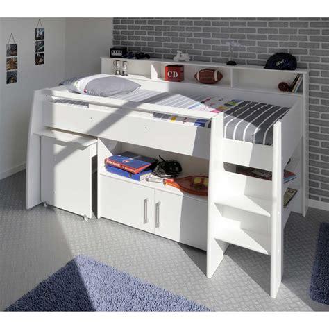 lit avec bureau lit enfant pas cher