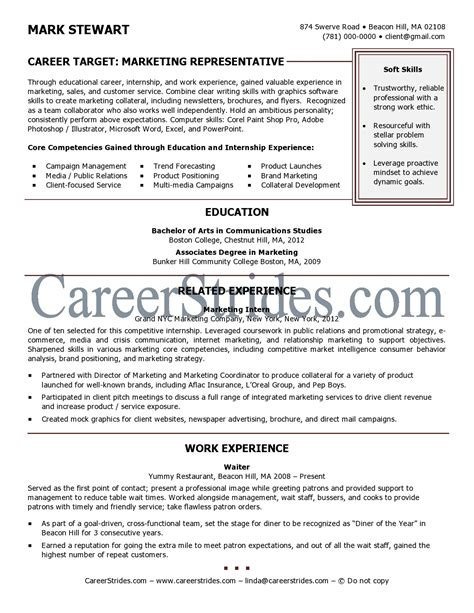 resume template recent college graduate importance of