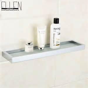 Metal Bathroom Shelving by Bathroom Glass Shelf Glass Metal Shower Shelves Bathroom