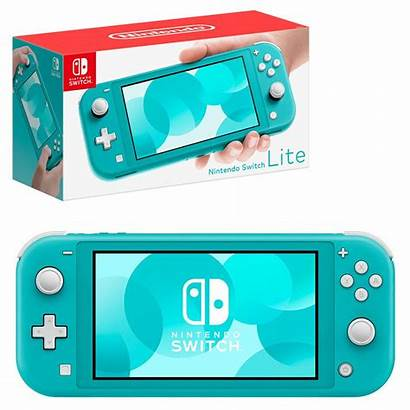 Lite Nintendo Switch Console Turquoise
