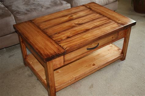 ana white coffee table diy projects