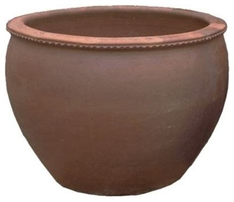 black clay ang pot outdoor pots and planters by arizona pottery