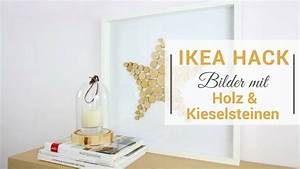Bilderrahmen 30x30 Ikea : ikea hack ribba bilderrahmen 2 diy bilder mit holz und steinen youtube ~ Eleganceandgraceweddings.com Haus und Dekorationen