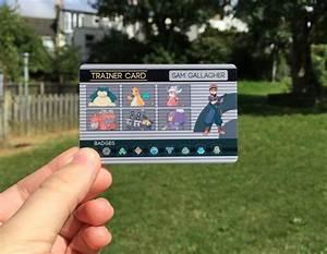 Custom Pokemon Trainer Id Pokemon Anime Pokemongo