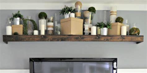 ikea floating shelf remodelaholic turn an ikea shelf into a pottery barn ledge
