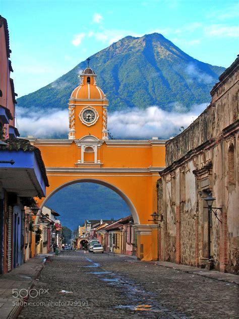Photograph Santa Catalina Arch Antigua Guatemala By Dave