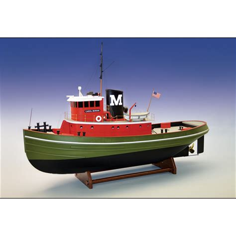 Tugboat Kit by Carol Tug Boat Kit Large 1 24 Scale