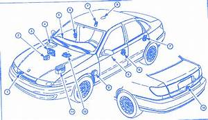 Saturn Aura 2003 Part Of Electrical Circuit Wiring Diagram