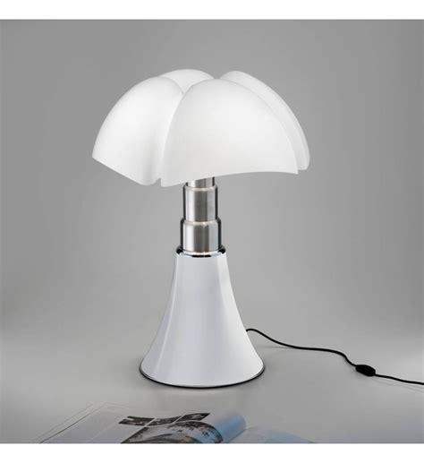lampe medium pipistrello inoxresine blanc  led   cm martinelli luce blanc le bhv marais