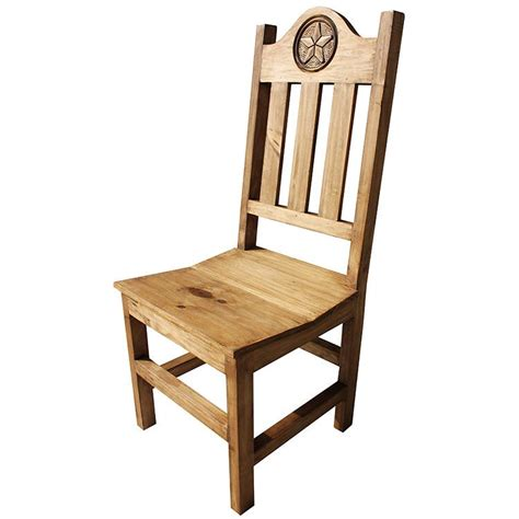 rustic pine collection lone chair sil539