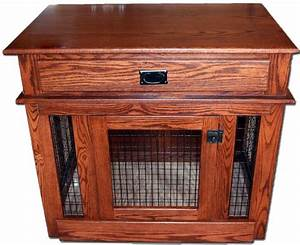 Dog crates that look like furniture woodworking projects for Furniture dog crates sale