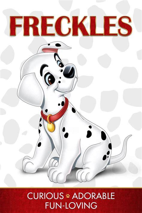 dalmatians 101 disney names freckles characters 1961 dalmations dalmatian puppies dalmatiens dogs character hundred movies cartoon walt dalmatas movie films