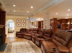 House Design with Basement Lighting Modern Stunning