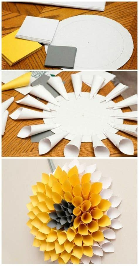 Selber Machen Aus Papier wanddeko selber machen 68 tolle ideen f 252 r ihr zuhause