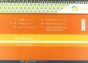 Letrilandia Lectoescritura Cuaderno 2 De Escritura  Pauta