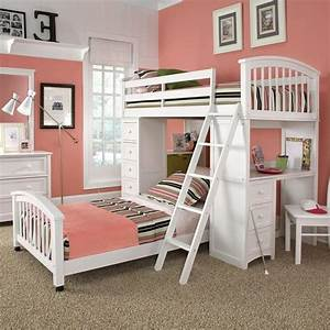 loft beds for teenage girl twin smart loft beds for With beautiful bunk bed 4 teens