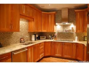 granite for natural cherry kitchen cabinets Ansley Park