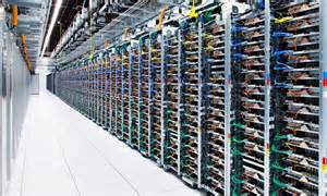 google pictures        vast data centres daily mail