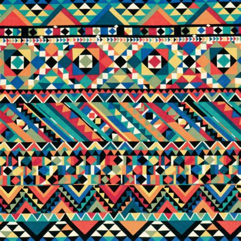 aztec colors aztec aztec pattern black blue colorful image
