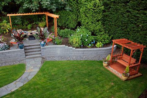yard retaining wall ideas retaining wall ideas for best choice homestylediary com