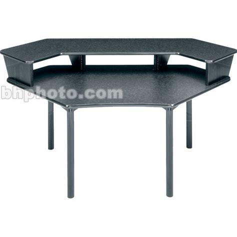 middle atlantic desk middle atlantic corner desk w 1 pce overbridge mdv cnr1