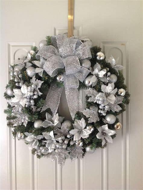 silver christmas decorating ideas   christmas