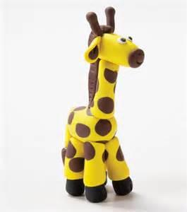porcelain cake topper create a clay giraffe kidscrafts kids crafts with jo