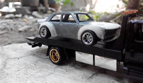 Datsun 510 Kit by How To Make A Widebody Rocket Bunny Kit For Wheels
