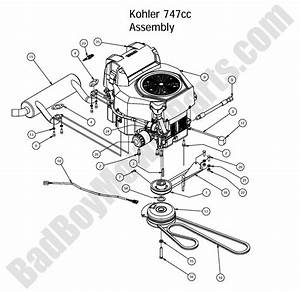 Bad Boy Mower Parts - 2016 Outlaw  U0026 Outlaw Extreme