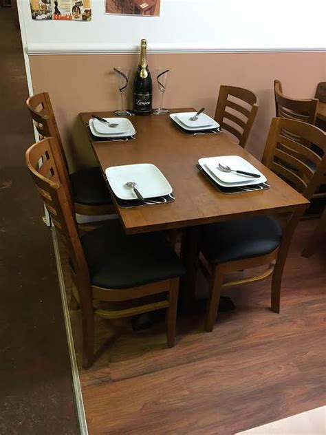 secondhand chairs  tables restaurant  cafe tables
