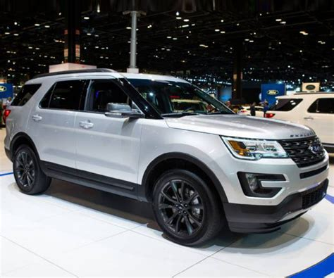 ford explorer release date redesign price