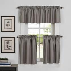 newport kitchen window curtain tier and valance bed bath beyond