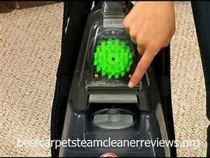 Hoover Steamvac Spin Scrub Turbopower Carpet Cleaner With