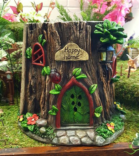 tree stump house fairygardensuk co uk
