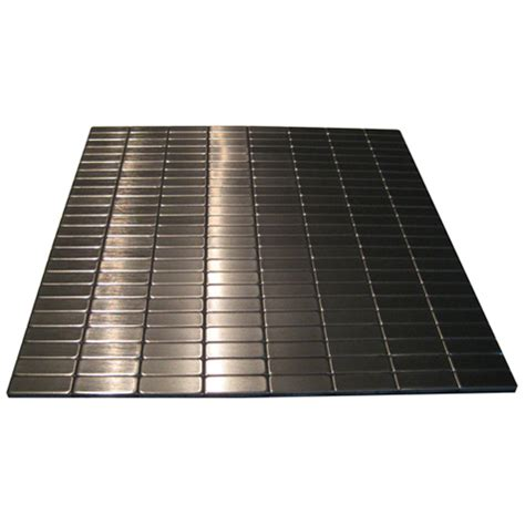self adhesive metal tile stainless steel rona